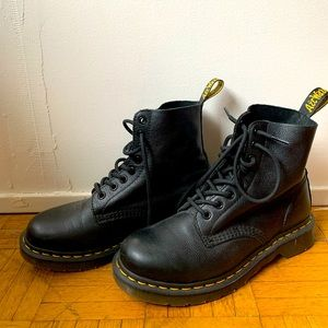 Classic Dr.Marten boots in soft leather